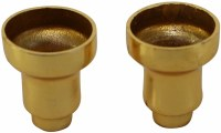 Brass Menorah Drip Cups 9 Pack