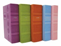 Artscroll Hebrew English Machzorim: 5 Volume Pocket Slipcased Set - Ashkenaz - Multicolored Faux Leather