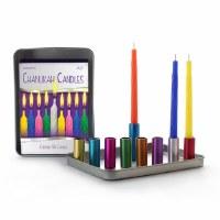 Candle Menorah Magnetic Travel Kit