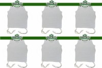 PerfTzit Undershirt Tzitzis Malchut Size 26 Ashkenazi Meyuchad - 6 Pack