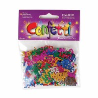 Mazel Tov Multi Colored Confetti