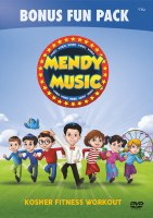 Mendy Music Exercise Workout Video DVD