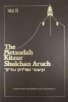 Metsudah Kitzur Shulchan Aruch, Vol. 2
