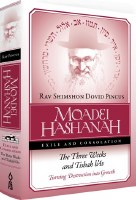 Moadei Hashanah: Exile and Consolation [Hardcover]