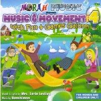 Music and Movement with Fun and Games Galore Volume 4 CD