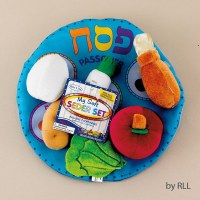 My Soft Seder Set TM in Reusable Pouch