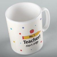 #1 Teacher Pencil Mug 11 oz