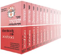 Judaica Press Nach 24 Volume Set - Books of Prophets & Holy Writings [Hardcover]