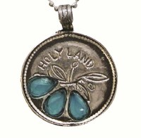 Silver Necklace With Holyland Pendant #NDN2024-313