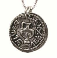 Silver Necklace Coin Pendant #NDN2027-300