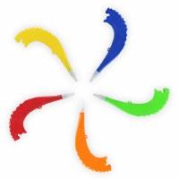 Toy Plastic Shofar Assorted Colors - Single Piece