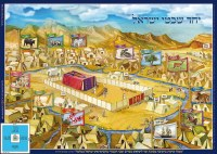 Laminated Sukkah Poster Yachad Shivtei Yisrael