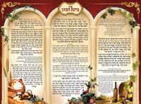 Laminated Sukkah Poster Birchas Hamazon