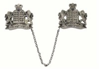 Tallit Clips Lion Silver #T5