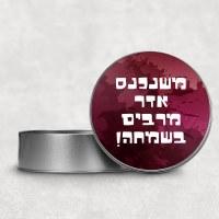 Mishloach Manos Tin Mishenichnas Adar Design