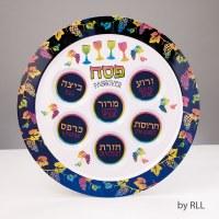 """Passover Pastels"" Melamine Seder Plate"