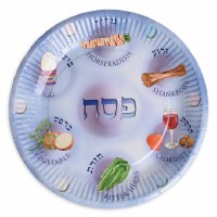 Passover Paper Plates Seder Plate Design