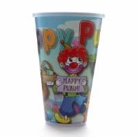 Plastic Cup Purim Scene Design with Lid