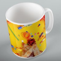 Mishloach Manos Mug A Freilichen Purim Hamantaschen Design 11oz