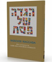 Passover Haggada Rabbi Adin Steinsaltz [Hardcover]