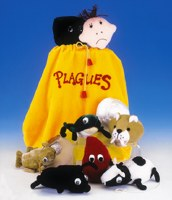 Passover Ten Plagues Makkos Plush Kit