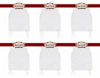 Perf-Tzit Undershirt Tzitzis Keter V-Neck Size 28 Ashkenazi Meyuchad - 6 Pack