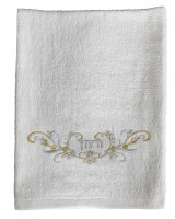 Pesach Towel Urchatz Embroidered Design