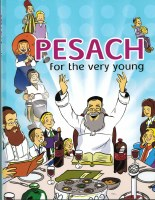 Pesach for the Very Young with Laminated Plastic Pages [Hardcover]