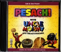 Pesach with Uncle Moishy and the Mitzvah Men CD