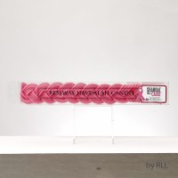 Beeswax Havdallah Candle For A Cause Pink 11""