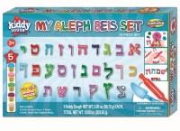 My Aleph Beis Kiddy Dough 34 Piece Set