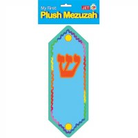 "Plush Mezuzah 10"" Blue"