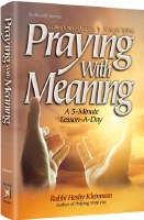 Praying with Meaning [Hardcover]