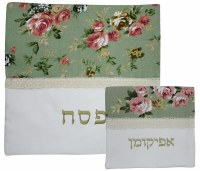Matzah Covers Set With Afikomen Bag RGPS83