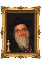 """Portrait on Wood The Sanz-Klausenberg Rebbe Shlita 8"""" x 10"""""""