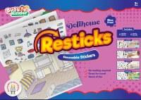 Reusable Stickers Dollhouse Theme