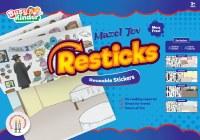 Reusable Stickers Mazel Tov Theme