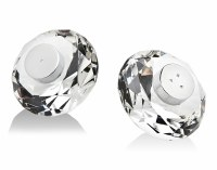 Crystal Salt and Pepper Shaker Set Rio Design