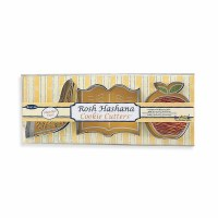 Cookie Cutters 3 Assorted Metal Rosh Hashanah Shapes