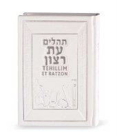 Tehillim with English Translation Medium Size White [Hardcover]