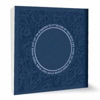 Zemiros Shabbos Square Booklet Blue Ashkenaz