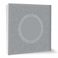 Zemiros Shabbos Square Booklet Silver Ashkenaz