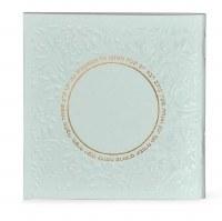 Zemiros Shabbos Square Booklet Mint Green Ashkenaz