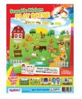 Reusable Stickers Set Farm Kit