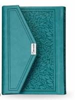 Siddur Eis Ratzon with Tehillim Magnetic Closure Turquoise Sefard