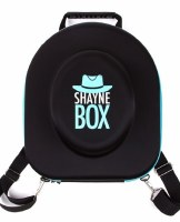ShayneBox Travel Hat Box Blue