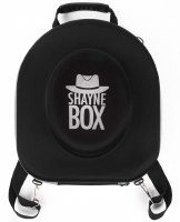 ShayneBox Travel Hat Box Silver