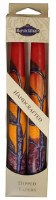 "Safed Taper Candles 2 Pack 10"" - Harmony Red"