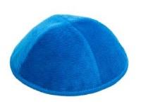 Yarmulka Corduroy Royal Blue Size 3