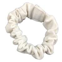 Sefer Torah Belt Velvet White Velcro Closure